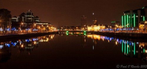 Dublin City Night