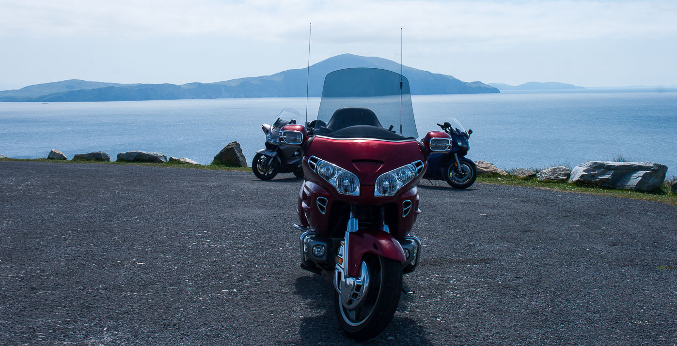 Two Wheels and A View