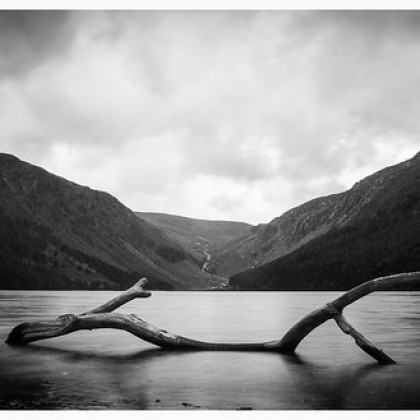 Upper Lake in Glendalough, Co. Wicklow.